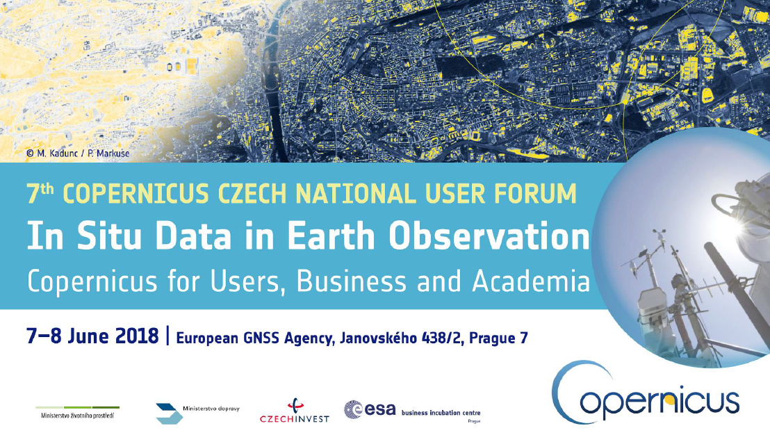7th CZECH NATIONAL COPERNICUS USER FORUM attachment