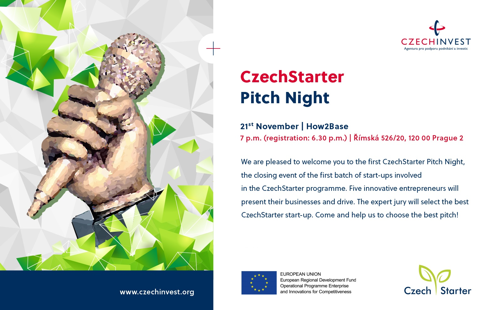 CzechStarter Pitch Night attachment