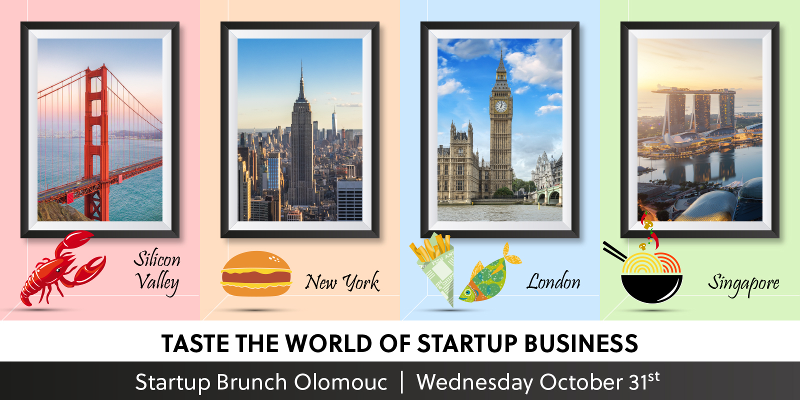 Startup Brunch Olomouc - Taste the World of Startup Business attachment
