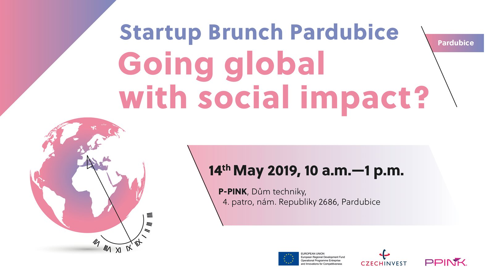 Startup Brunch Pardubice - Going global with social impact? attachment