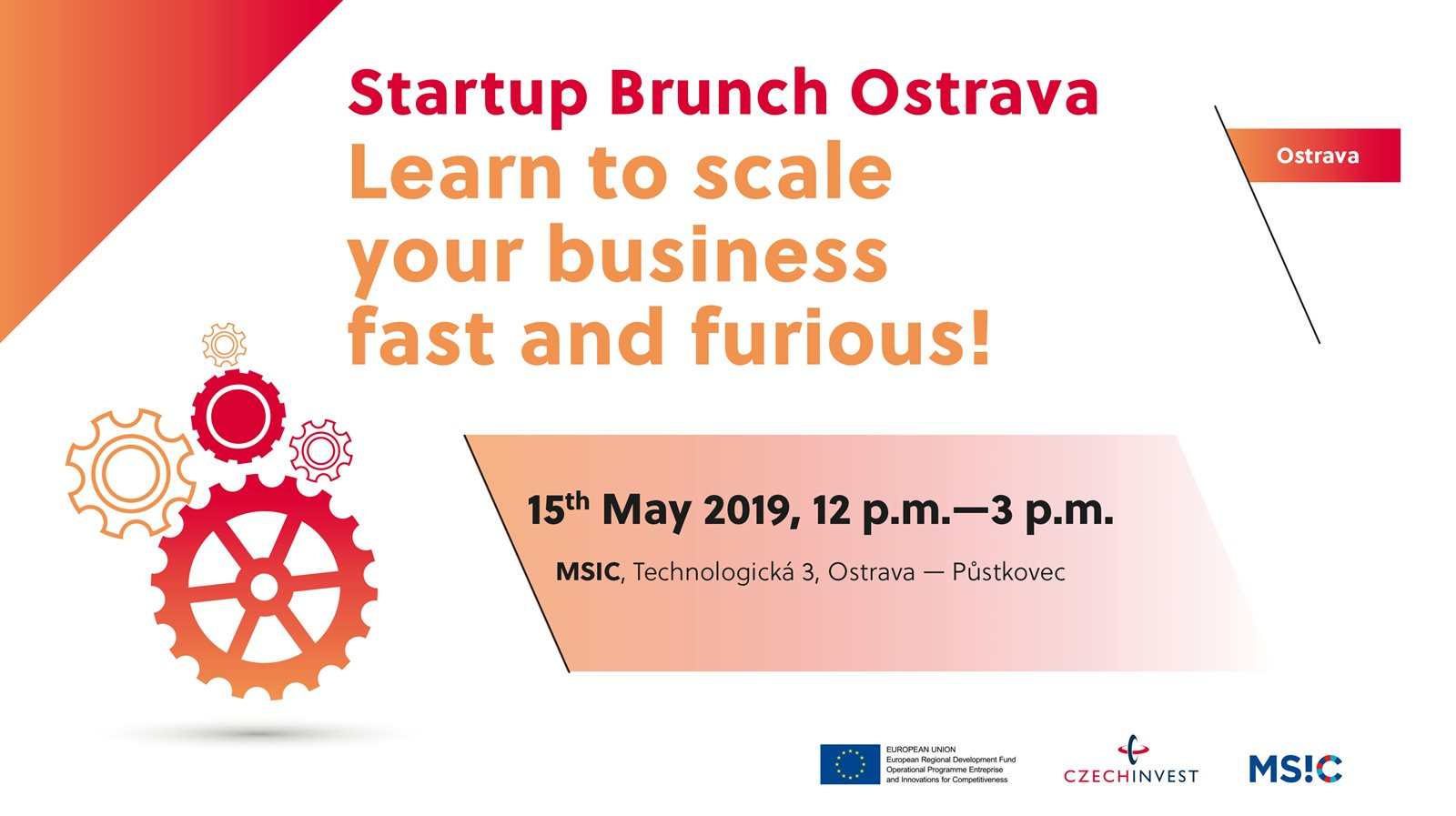 Startup Brunch Ostrava - Learn to scale your business fast and furious! attachment