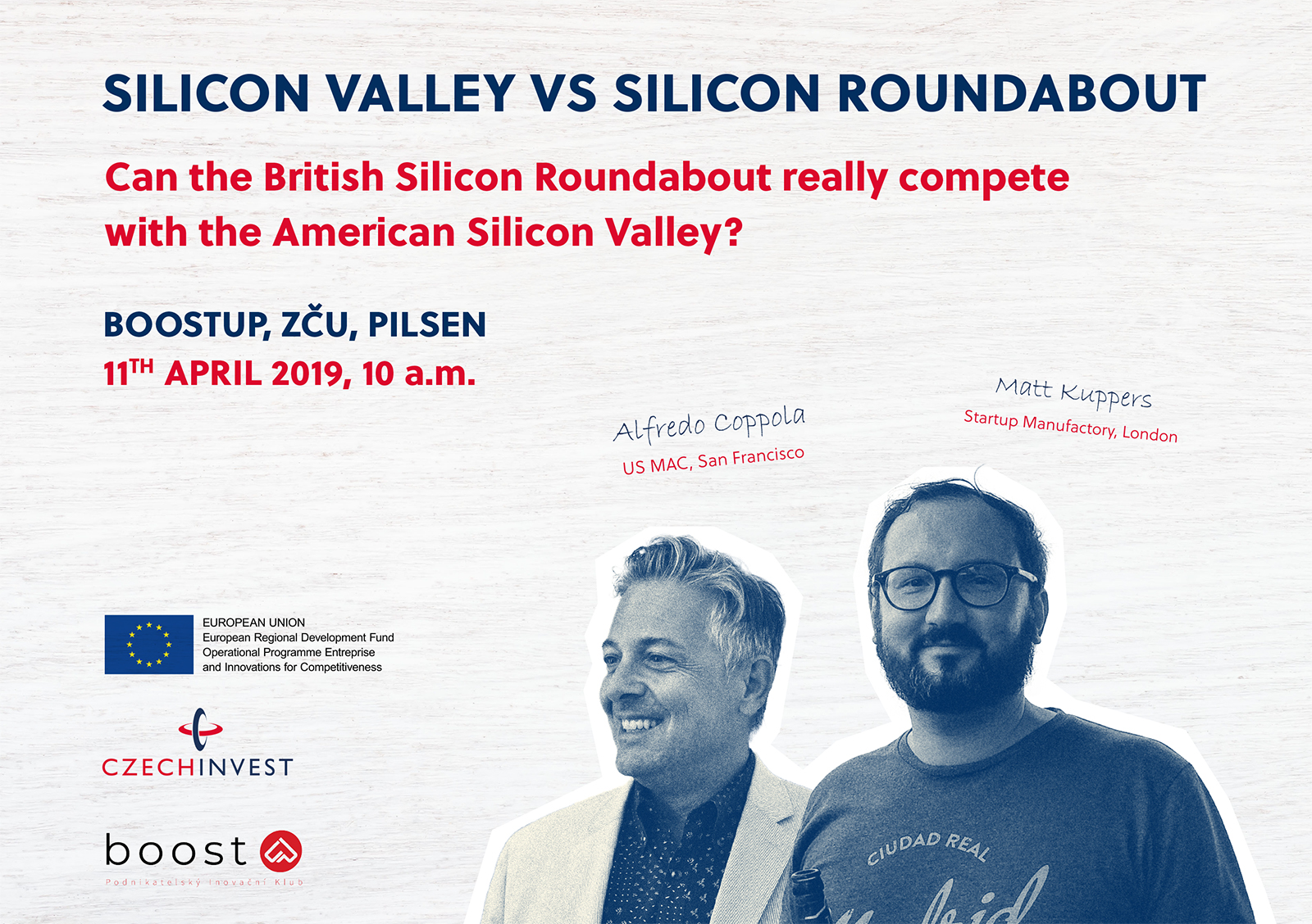 Startup Brunch Pilsen: Silicon Valley vs Silicon Roundabout attachment