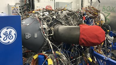 GE Aviation successfully tests new type of engine in Prague