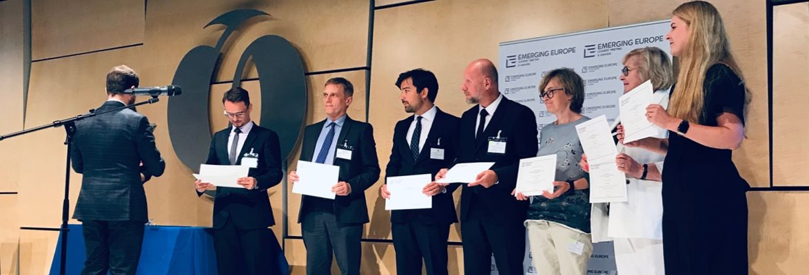 CzechInvest recognised in the Emerging Europe Awards 2019