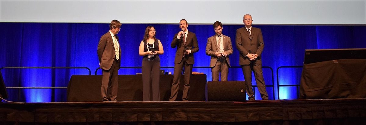 First Czech wins Young Space Leader award of the International Astronautical Federation