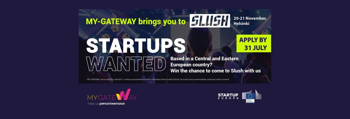 Free tickets to the Slush Helsinki 2019 conference