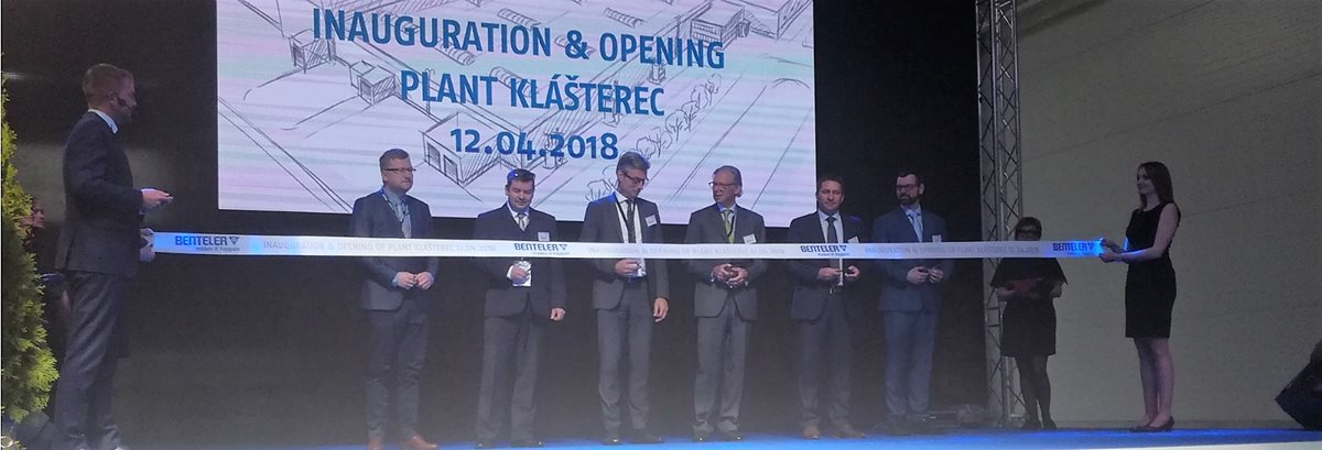 BENTELER opens its fifth factory in the Czech Republic