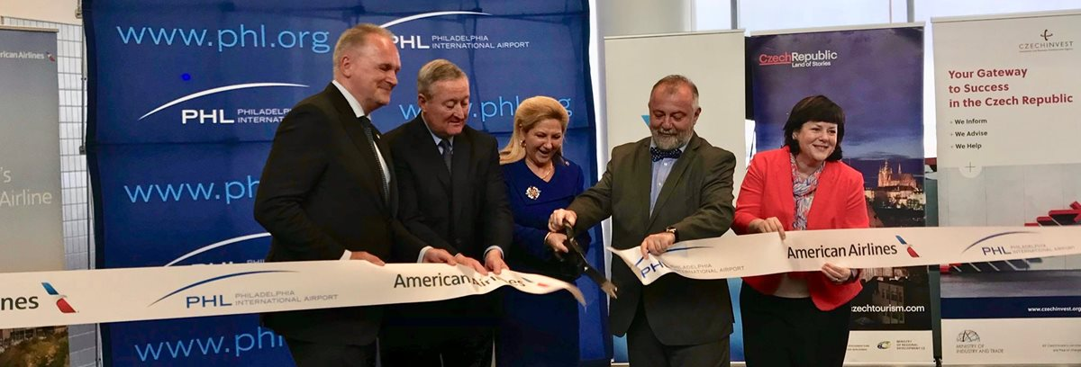 American Airlines launches direct route between Prague and Philadelphia