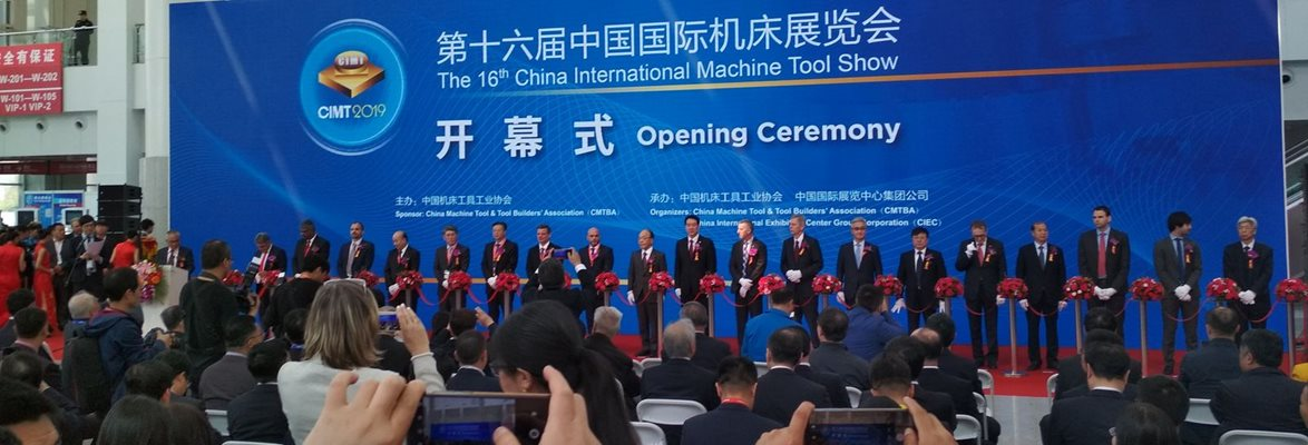 The Czech Republic successfully represented at a mechanical-engineering trade fair in Beijing