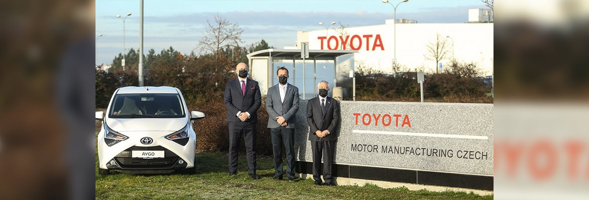 Toyota becomes the sole owner of the plant in Kolín