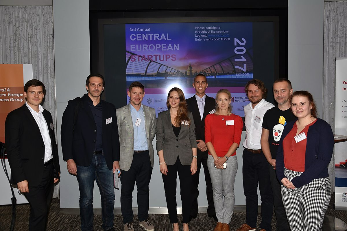 Czech technology start-ups exhibit at Central European Startups Day in London