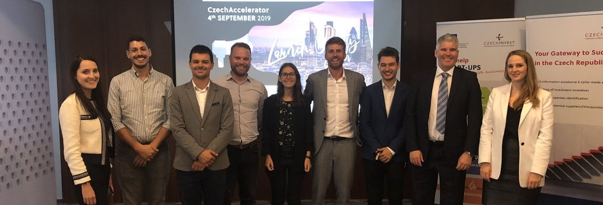 Czech start-ups set out to gain experience in London, New York and San Francisco with CzechAccelerator