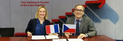 French cultural institute and CzechInvest sign memorandum of cooperation