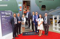 Czech aviation presented at Farnborough International Airshow 2018