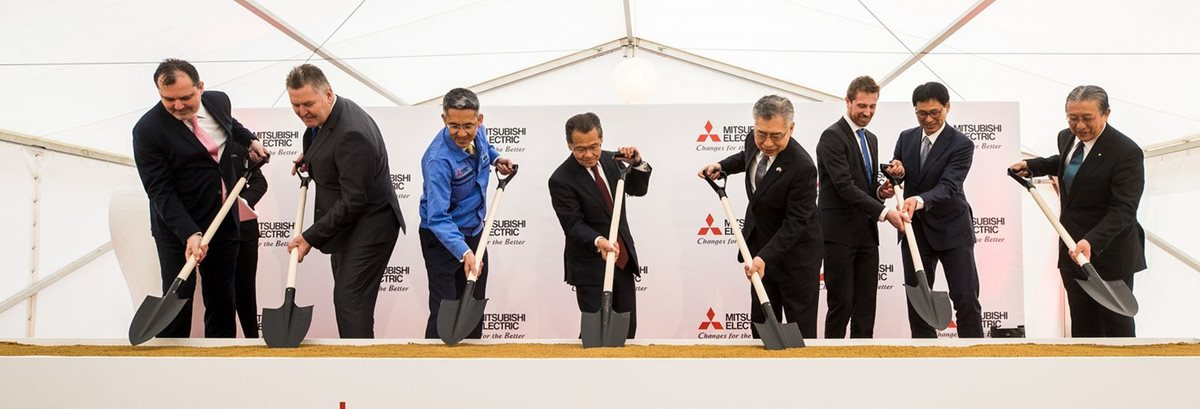 Mitsubishi Electric building new factory in the Czech Republic