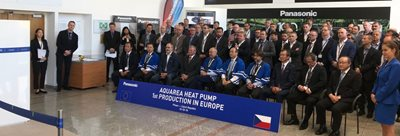 Panasonic's Plzeň plant opens new heat-pump production line
