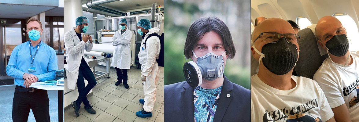Czech protective-equipment manufacturers helping in the fight against coronavirus
