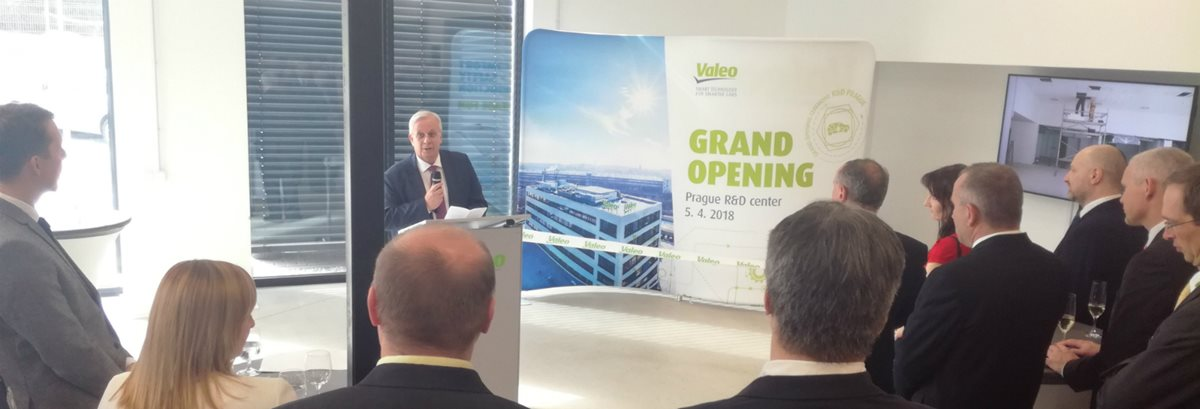 Valeo expands its Prague development centre