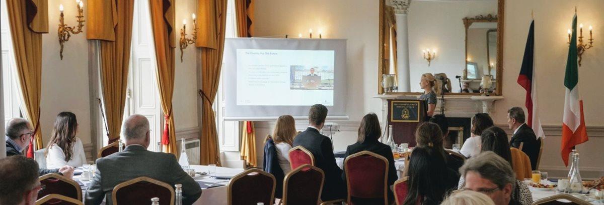 V Londýně a Dublinu představil CzechInvest investiční příležitosti České republiky