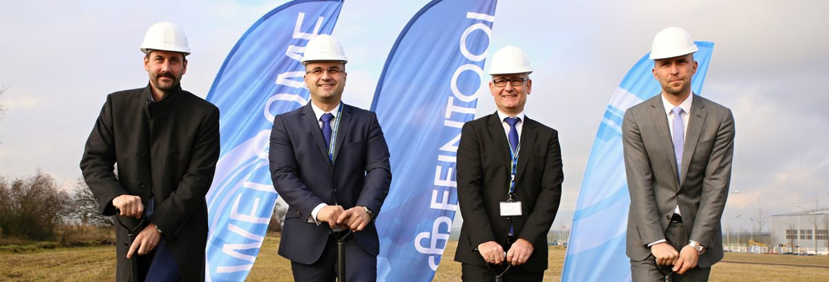 Swiss firm Feintool starts construction of its first factory in the Czech Republic
