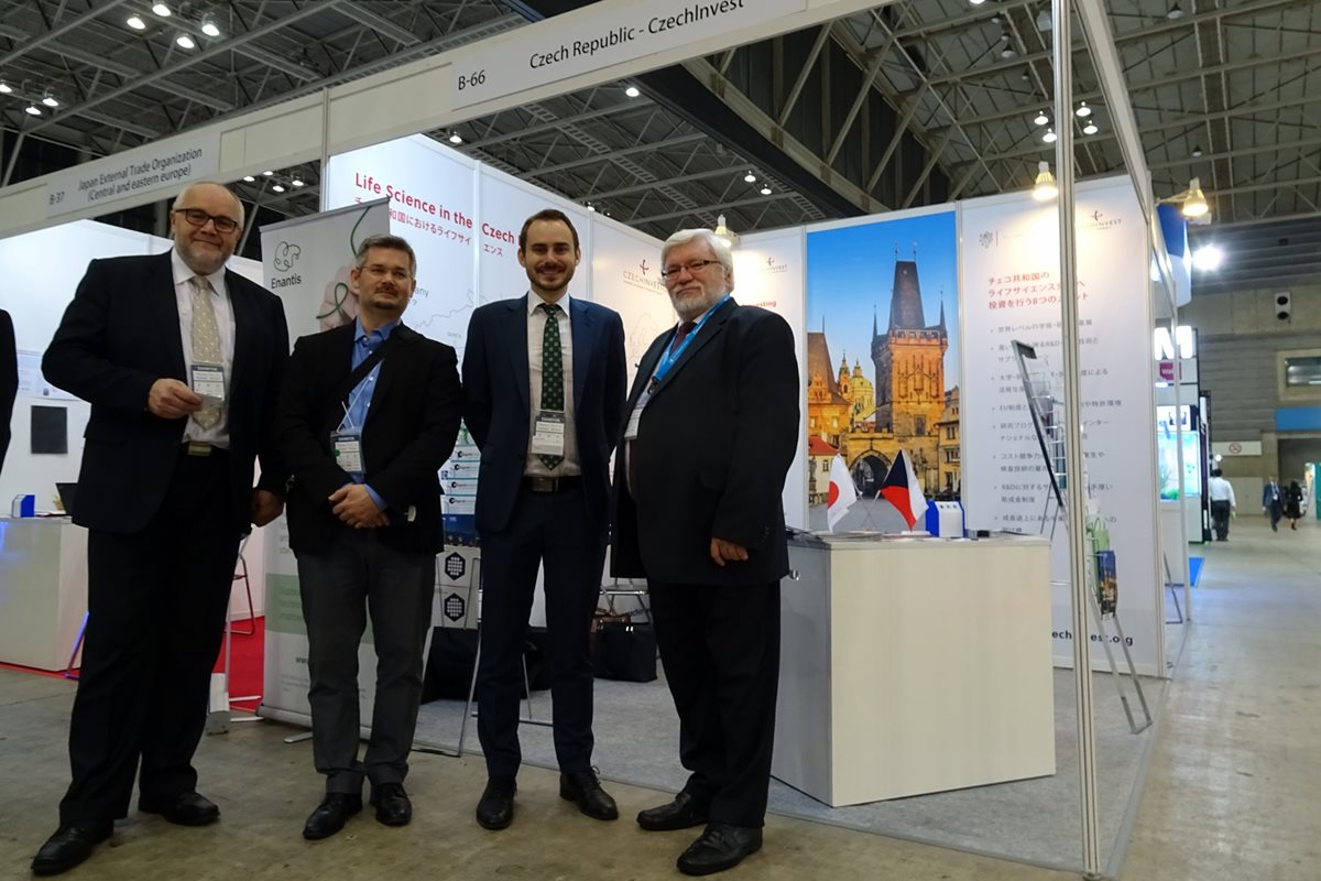 Czech participants at BIO Japan in Yokohama: