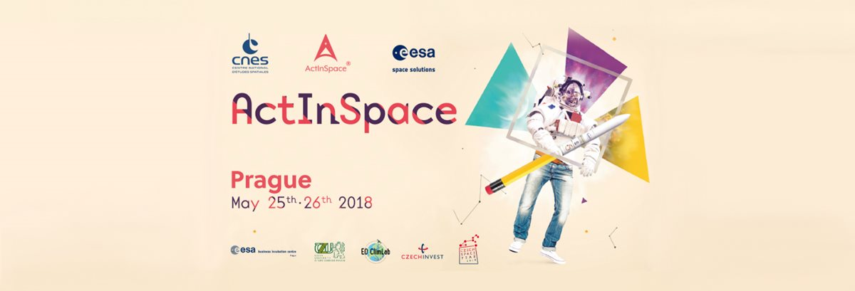 Three Czech firms' virtual-reality project headed to Toulouse for ActInSpace hackathon final in June