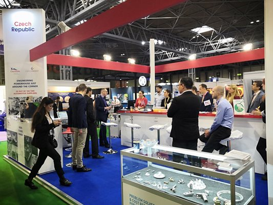 Czech companies exhibit at the Advanced Engineering 2019 trade fair in Great Britain